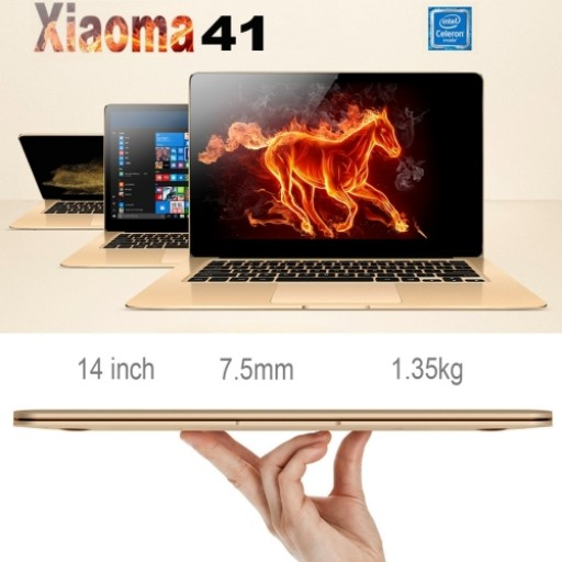 ONDA xiaoma41,4GB+64GB,certificated laptop 14 inch Win10