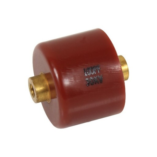 Doorknob Capacitor, High Voltage Ceramic Capacitor 30kV 100pF