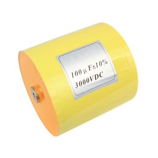 HIGH VOLTAGE METALLIZED POLYPROPYLENE FILM CAPACITOR 3KV 100MFD