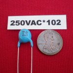 250V AC 8kV DC 1000pF Y1 Ceramic Disc Safety Capacitor