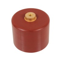 Doorknob Capacitor, High Voltage Ceramic Capacitor 50kV 600pF