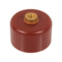 Doorknob Capacitor, High Voltage Ceramic Capacitor 30kV 1500pF